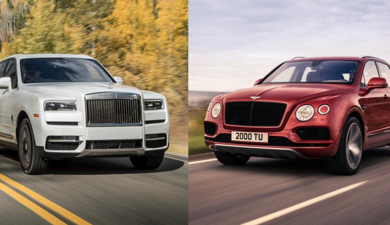 Rolls Royce Cullinan v Bentley Bentayga