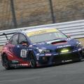WRX STI test at Fuji
